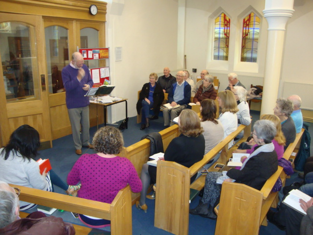 Evening Bible Study at All Saints Church Southport