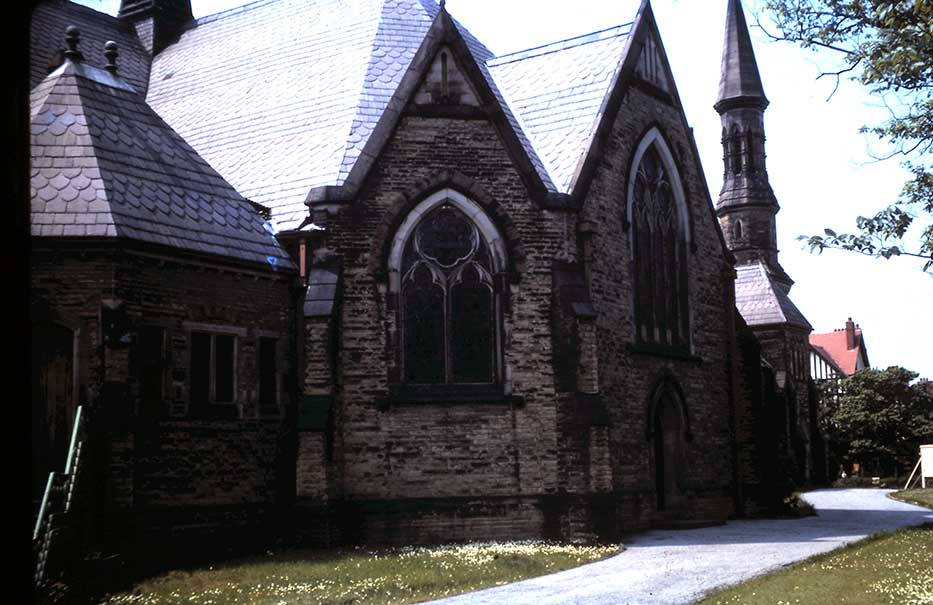 All Saints Southport Original Church Building - Exterior
